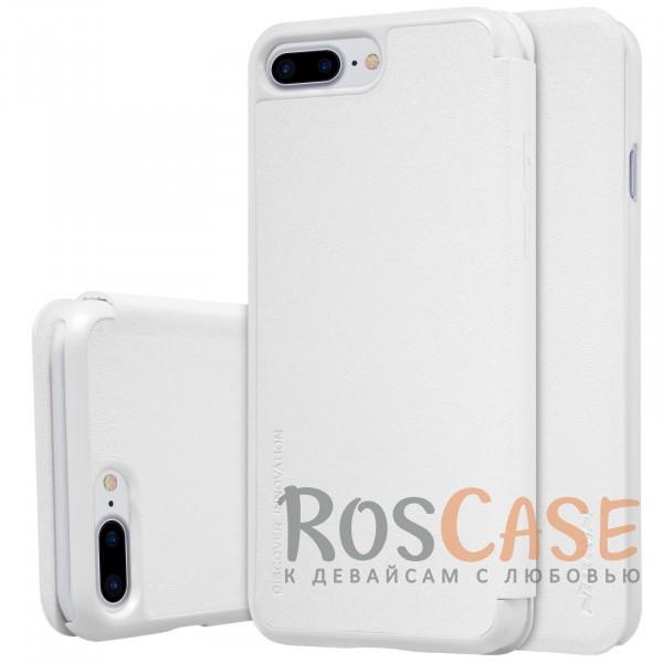 Кожаный чехол (книжка) Nillkin Sparkle Series для Apple iPhone 7 plus (5.5) (Белый)Описание:производитель -&amp;nbsp;Nillkin;разработан для Apple iPhone 7 plus (5.5);материал - искусственная кожа, поликарбонат;тип - чехол-книжка.Особенности:блестящая поверхность;защита от царапин и ударов;тонкий дизайн;защита со всех сторон;не скользит в руках.<br><br>Тип: Чехол<br>Бренд: Nillkin<br>Материал: Искусственная кожа