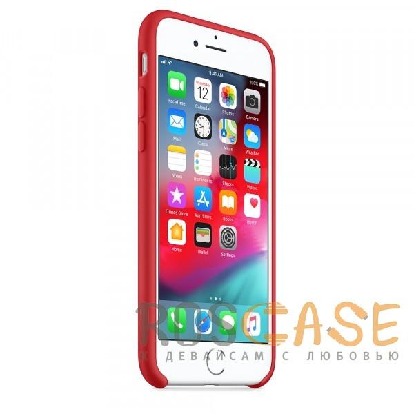 Изображение Красный Чехол Silicone Case для iPhone 7/8/SE (2020)