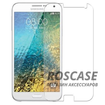 Защитное стекло Ultra Tempered Glass 0.33mm (H+) для Samsung E500H/DS Galaxy E5 (карт. уп-вка)