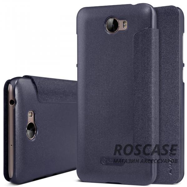 Кожаный чехол (книжка) Nillkin Sparkle Series для Huawei Y5 II / Honor Play 5 (Черный)Описание:производитель -&amp;nbsp;Nillkin;разработан для Huawei Y5 II / Honor Play 5;материал - искусственная кожа, поликарбонат;тип - чехол-книжка.Особенности:блестящая поверхность;защита от царапин и ударов;тонкий дизайн;защита со всех сторон;не скользит в руках.<br><br>Тип: Чехол<br>Бренд: Nillkin<br>Материал: Искусственная кожа