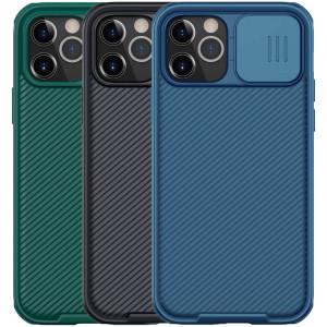 Nillkin CamShield Pro   Чехол из пластика и TPU с защитой камеры для iPhone 12 / 12 Pro