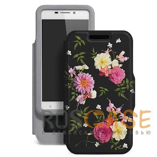 Универсальный чехол-книжка Gresso с цветочным принтом Виктория-георгин для смартфона с диагональю 5,5-6,0 дюйма (Черный)Описание:совместимость -&amp;nbsp;смартфоны с диагональю 5,5-6,0 дюйма;материал - искусственная кожа;тип - чехол-книжка;предусмотрены все необходимые вырезы;защищает девайс со всех сторон;цветочный рисунок;ВНИМАНИЕ:&amp;nbsp;убедитесь, что ваша модель устройства находится в пределах максимального размера чехла.&amp;nbsp;Размеры чехла: 152*82 мм.<br><br>Тип: Чехол<br>Бренд: Gresso<br>Материал: Искусственная кожа