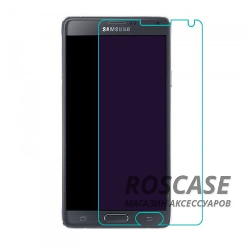 фото защитное стекло Ultra Tempered Glass 0.33mm (H+) для Samsung N910H Galaxy Note 4