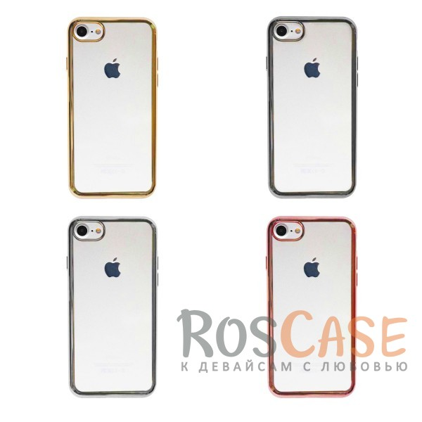"""Фото Силиконовый чехол для Apple iPhone 7 / 8 (4.7"""") с глянцевой окантовкой"""