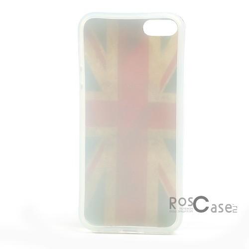 "фото TPU чехол IMD Print ""Флаг Великобритании"" для Apple iPhone 5/5S/5SE"