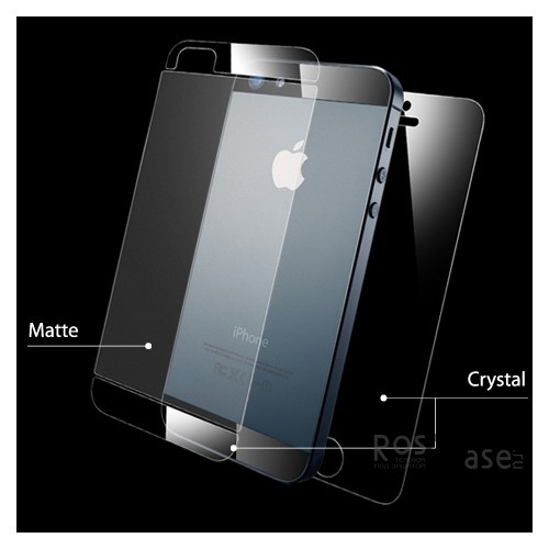 Защитная пленка SGP Steinheil Ultra Crystal Mix Series (на обе стороны) для Apple iPhone 5