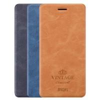 "MOFI Vintage   Кожаный чехол-книжка для Meizu M5 Note с функцией ""Smart sleep"""