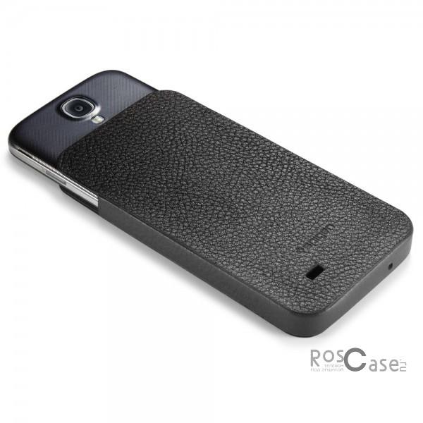 Кожаный футляр SGP Crumena View Series для Samsung Galaxy S4 i9500 - вид сзади
