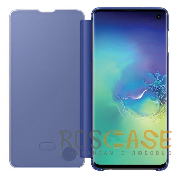 Фотография Синий Чехол-книжка Clear View Standing Cover для Samsung Galaxy A80 / A90