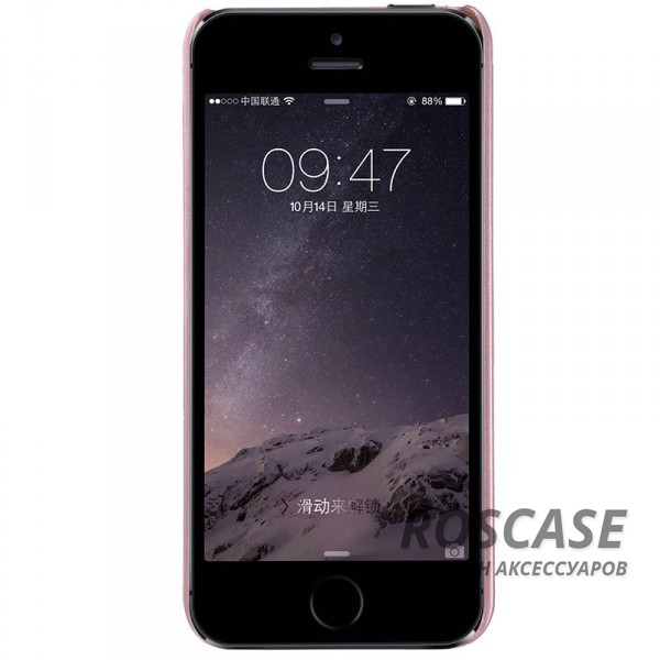 фото Rose Gold Чехол Nillkin Matte для Apple iPhone 5/5S/SE (+ пленка)