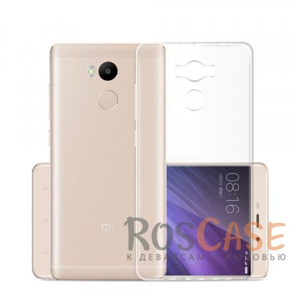 Ультратонкий силиконовый чехол Ultrathin 0,33mm для Xiaomi Redmi 4 Pro / Redmi 4 Prime (Бесцветный (прозрачный))Описание:разработан специально для Xiaomi Redmi 4 Pro / Redmi 4 Prime;ультратонкий дизайн;материал - TPU;тип - накладка.<br><br>Тип: Чехол<br>Бренд: Epik<br>Материал: TPU