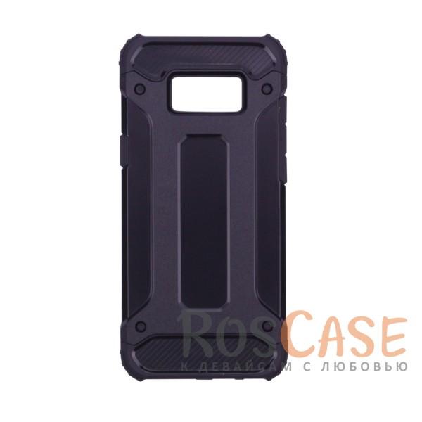 Противоударный двухкомпонентный чехол с дополнительной защитой углов для Samsung G955 Galaxy S8 Plus (Черный)Описание:ударопрочный чехол;спроектирован специально для Samsung G955 Galaxy S8 Plus;защищает заднюю панель гаджета и боковые грани;приподнятые бортики защищают экран от царапин;конструкция из двух материалов - термополиуретана и поликарбоната;предусмотрены все необходимые вырезы;не скользит в руках;формат - накладка.<br><br>Тип: Чехол<br>Бренд: Epik<br>Материал: TPU