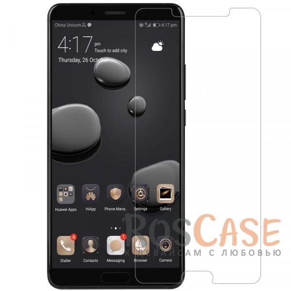 Ультратонкое антибликовое защитное стекло с олеофобным покрытием анти-отпечатки для Huawei Mate 10Описание:компания&amp;nbsp;Nillkin;подходит для Huawei Mate 10;материал: закаленное стекло;защита экрана от царапин и ударов;свойство анти-отпечатки;свойство анти-блик;ультратонкое - 0,2 мм;закругленные края 2,5D;размеры стекла -&amp;nbsp;144*72 мм.<br><br>Тип: Защитное стекло<br>Бренд: Nillkin