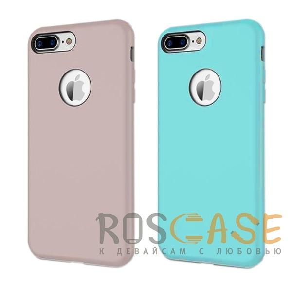 Rock Silicon | Ультратонкий чехол для Apple iPhone 7 plus / 8 plus (5.5) из силиконаОписание:производитель  - &amp;nbsp;Rock;форм-фактор  -  накладка;материал  -  термополиуретан;совместим с Apple iPhone 7 plus / 8 plus (5.5).Особенности:имеются проемы под внешние порты, динамик, камеру, регулятор громкости, вырез под логотип;обеспечен функциями &amp;laquo;анти-удар&amp;raquo;, &amp;laquo;анти-отпечатки&amp;raquo;, &amp;laquo;анти-скольжение&amp;raquo;;дизайн  -  ультратонкий;система фиксации.<br><br>Тип: Чехол<br>Бренд: ROCK<br>Материал: Силикон