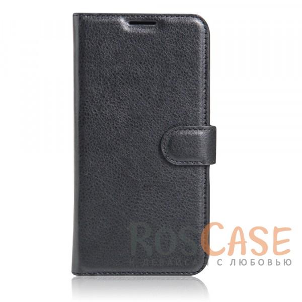 Чехол-кошелёк из экокожи с функцией подставки на магнитной застёжке для Xiaomi Redmi Note 4 (MTK) (Черный)Описание:материалы - термополиуретан, искусственная экокожа;совместимость - Xiaomi Redmi Note 4;в наличии все необходимые вырезы;защита от ударов и царапин;функция подставки;магнитная застёжка;не скользит в руках;внешняя отделка из искусственной кожи;приподнятые бортики для защиты камеры.<br><br>Тип: Чехол<br>Бренд: Epik<br>Материал: Искусственная кожа