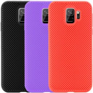 Air Color Slim | Силиконовый чехол для Samsung Galaxy S9 с перфорацией