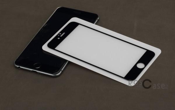 Защитное стекло ROCK Perfect Full Tempered (2.5D) 0.3 mm Glass для Apple iPhone 6/6s plus (5.5) (Черный / Black)Описание:Производитель - компания&amp;nbsp;Rock;Совместимость: Apple iPhone 6/6s plus (5.5);Материал: закаленное стекло;Форма: защитное стекло.Особенности:Исключается появление царапин и возникновение потертостей;Гарантировано исключительное взаимодействие с сенсорной клавиатурой дисплея;Плотность - 9H;Толщина - 0,3 мм;Отсутствие отпечатков;Не подвержено деформации;Полностью закрывает экран.<br><br>Тип: Защитное стекло<br>Бренд: ROCK
