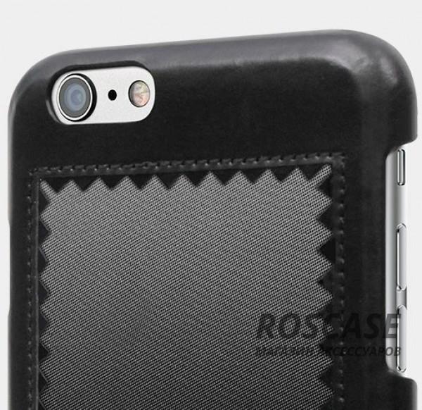 """Изображение Черный STIL Horizon   Кожаный чехол для Apple iPhone 6/6s (4.7"""") с зигзагообразной окантовкой"""