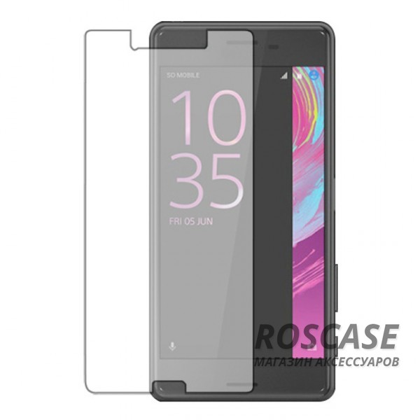 Защитное стекло Ultra Tempered Glass 0.33mm (H+) для Sony Xperia X Performance (картонная упаковка)Описание:совместимо с устройством Sony Xperia X Performance;материал: закаленное стекло;тип: защитное стекло на экран.&amp;nbsp;Особенности:закругленные&amp;nbsp;грани стекла обеспечивают лучшую фиксацию на экране;стекло очень тонкое - 0,33 мм;отзыв сенсорных кнопок сохраняется;стекло не искажает картинку, так как абсолютно прозрачное;выдерживает удары и защищает от царапин;размеры и вырезы стекла соответствуют особенностям дисплея.<br><br>Тип: Защитное стекло<br>Бренд: Epik