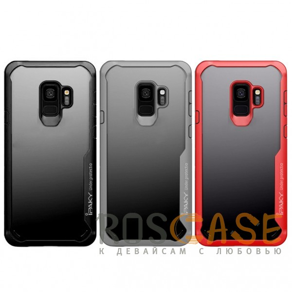 Фото iPaky Luckcool | Чехол для Samsung Galaxy S9 с цветными силиконовыми вставками