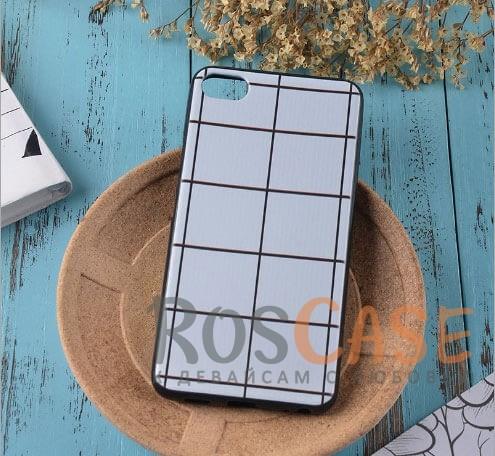 Силиконовый чехол-накладка с уникальным принтом для Meizu U10 (Белая Клетка)<br><br>Тип: Чехол<br>Бренд: Epik<br>Материал: TPU