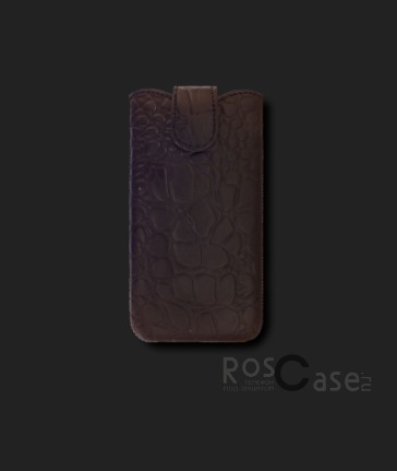 фото кожаный футляр Mavis Classic Crocodile для Desire 400/i8262 Galaxy Core/IQ4416