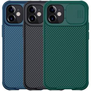 Nillkin CamShield Pro   Чехол из пластика и TPU с защитой камеры для iPhone 12 Mini