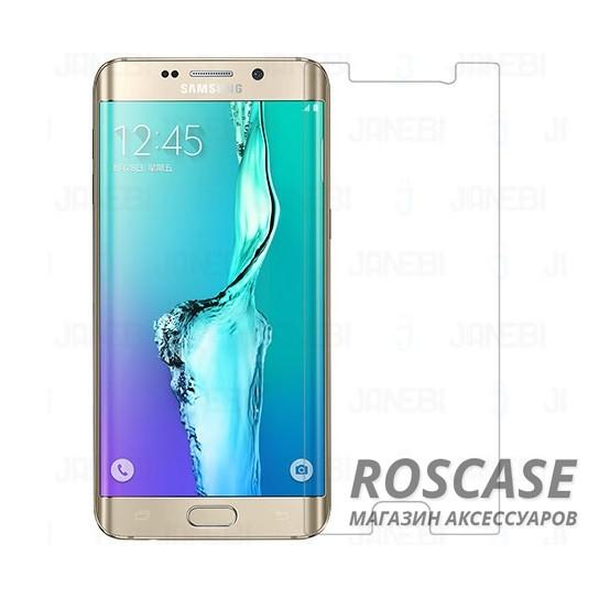 Защитная пленка Ultra Screen Protector для Samsung Galaxy S6 Edge Plus (Прозрачная)Описание:производитель&amp;nbsp; - &amp;nbsp;Epik;материал&amp;nbsp; -  полимер;совместимость&amp;nbsp;c Samsung Galaxy S6 Edge Plus;тип  -  защитная пленка.Особенности:поверхность&amp;nbsp; - &amp;nbsp;глянцевая или матовая;дизайн&amp;nbsp; -  ультратонкий;все вырезы в наличии;функция&amp;nbsp; -  антиблик, антиотпечатки;способ поклейки:&amp;nbsp;электростатический.<br><br>Тип: Защитная пленка<br>Бренд: Epik