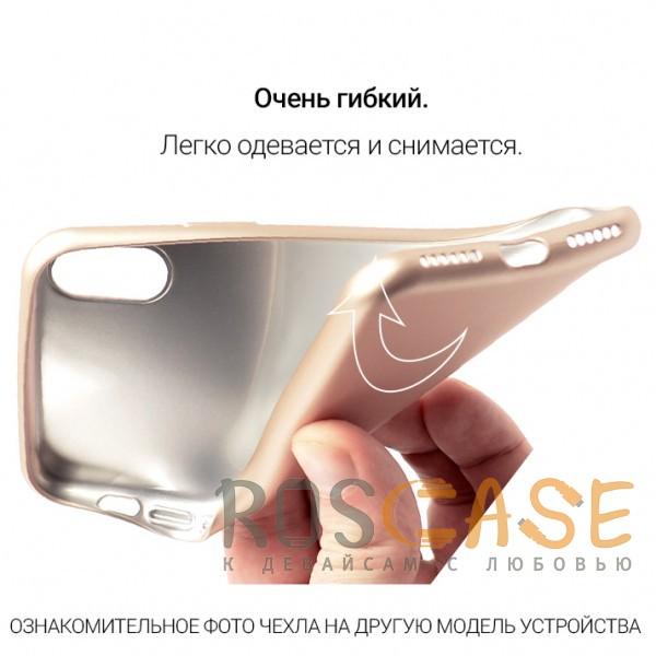 Изображение Золотой J-Case THIN | Гибкий силиконовый чехол для Huawei P20 Lite
