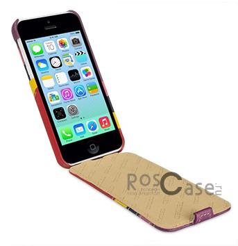 Фото кожаного чехла TETDED Zeus 3 Series для Apple iPhone 5C