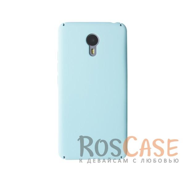 Пластиковая накладка soft-touch с защитой торцов Joyroom для Meizu M3 Note (Мятный)<br><br>Тип: Чехол<br>Бренд: Epik<br>Материал: Пластик