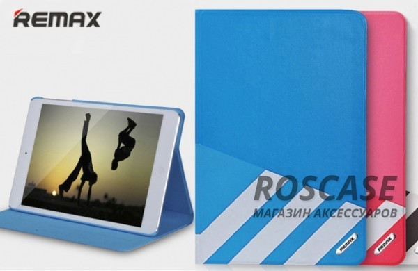 фото кожаный чехол (книжка) Remax Parkour для Apple iPad mini (Retina)/Apple IPAD mini 3