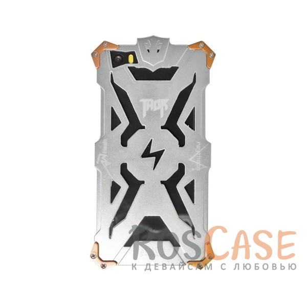Противоударный чехол из авиационного алюминия на винтах Thor для Xiaomi MI5 / MI5 Pro (Серебряный)<br><br>Тип: Чехол<br>Бренд: Epik<br>Материал: Металл
