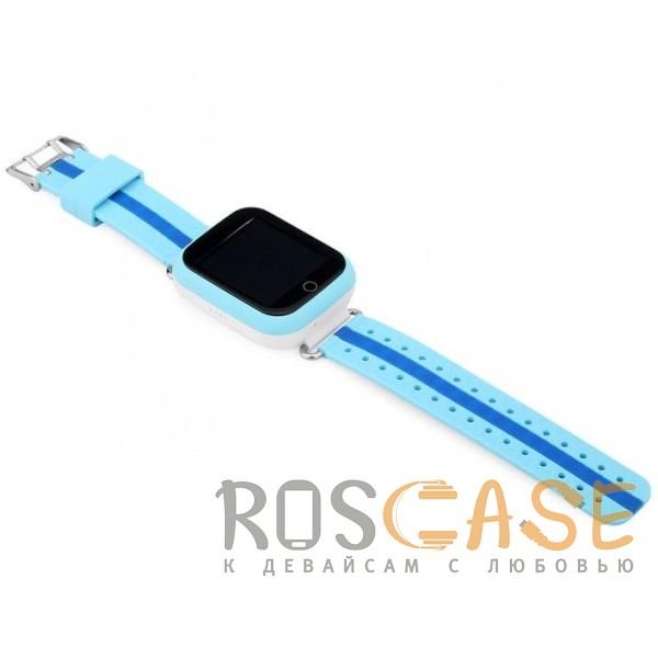 Фотография Голубой Умные детские часы Smart Baby Watch GW200S
