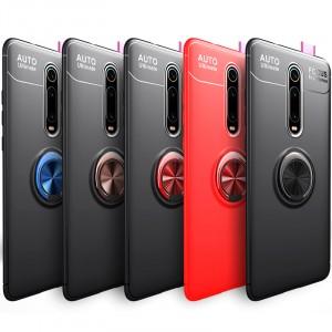 Deen ColorRing | Силиконовый чехол под магнитный держатель  для Xiaomi Mi 9T (Pro) / Redmi K20 (Pro)