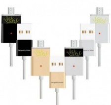 фото  Магнитный кабель WSKEN X-cable Double Metal Series MicroUSB