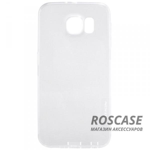 Nillkin Nature | Силиконовый чехол для Samsung G925F Galaxy S6 Edge (Бесцветный (прозрачный))Описание:производитель  -  бренд&amp;nbsp;Nillkin;совместим с Samsung G925F Galaxy S6 Edge;материал  -  термополиуретан;тип  -  накладка.&amp;nbsp;Особенности:в наличии все вырезы;не скользит в руках;тонкий дизайн;защита от ударов и царапин;прозрачный.<br><br>Тип: Чехол<br>Бренд: Nillkin<br>Материал: TPU