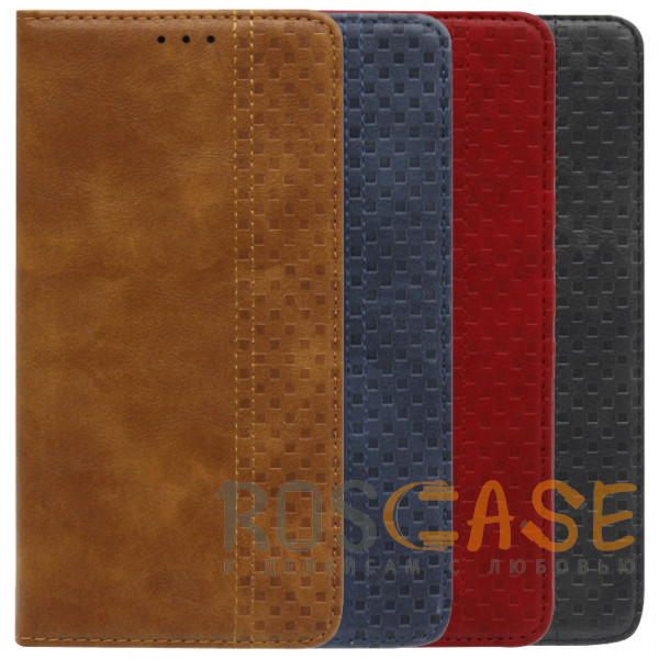 Фото Business Wallet | Кожаный чехол книжка с визитницей для Xiaomi Redmi 9T