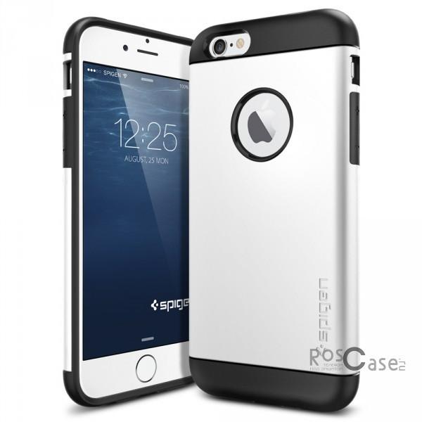 Пластиковая накладка SGP Slim Armor Series для Apple iPhone 6/6s (4.7) (Белый / Shimmery White / SGP10957)Описание:бренд:&amp;nbsp;SGP;совместим с Apple iPhone&amp;nbsp;6/6s (4.7);используемые материалы: термопластичный полиуретан, поликарбонат;форма чехла: накладка.&amp;nbsp;Особенности:соблюдено полное количество прорезей под функциональные объекты;тонкое исполнение;амортизация возникающей вибрации от падения;на ней не видны отпечатки пальцев;идеально прилегает.<br><br>Тип: Чехол<br>Бренд: SGP<br>Материал: Пластик