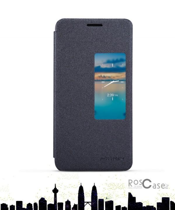 Кожаный чехол (книжка) Nillkin Sparkle Series для Huawei Honor 6 (Черный)Описание:бренд -&amp;nbsp;Nillkin;совместим с&amp;nbsp;Huawei Honor 6;материал: кожзам;тип: чехол-книжка.Особенности:защита от механических повреждений;не скользит в руках;интерактивное окошко;функция Sleep mode;не выгорает;тонкий дизайн.<br><br>Тип: Чехол<br>Бренд: Nillkin<br>Материал: Натуральная кожа