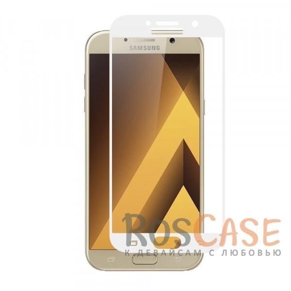 Тонкое защитное стекло CaseGuru на весь экран для Samsung A520 Galaxy A5 (2017) (Белый)Описание:производитель -&amp;nbsp;CaseGuru;разработано для Samsung A520 Galaxy A5 (2017);цветная рамка;стекло для защиты экрана.<br><br>Тип: Защитное стекло<br>Бренд: CaseGuru