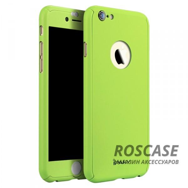 Чехол iPaky Painting 360 градусов для Apple iPhone 6/6s (4.7) (+ стекло на экран) (Зеленый)Описание:бренд iPaky;разработан для Apple iPhone 6/6s (4.7);материал: пластик;тип: накладка со стеклом.Особенности:тонкий дизайн;пастельные тона;защита экрана;функциональные вырезы;защищает от механических повреждений;матовый.<br><br>Тип: Чехол<br>Бренд: Epik<br>Материал: TPU