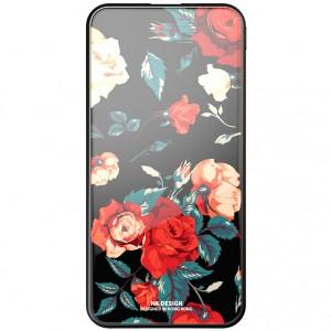 Bonen GlassPrint WK HP-55 | Портативное зарядное устройство Power Bank со стеклянным покрытием и принтом (10000 mAh) для Samsung Galaxy S9 Plus (G965F)