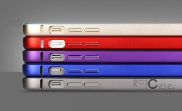 изображение металлический бампер Rock Arc Slim Guard для Apple iPhone 5/5S/5SE