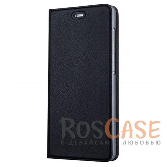 Кожаный чехол-книжка Msvii для Xiaomi Redmi 3 Pro / Redmi 3s с функцией подставки (Черный)Описание:производитель  -  компания Msvii;совместим с Xiaomi Redmi 3 Pro / Redmi 3s;материалы  -  искусственная кожа, поликарбонат;форма  -  чехол-книжка.&amp;nbsp;Особенности:фактурная поверхность;предусмотрены все функциональные вырезы;кармашек для визиток/кредитных карт/купюр;защита от механических повреждений;трансформируется в подставку.<br><br>Тип: Чехол<br>Бренд: Epik<br>Материал: Искусственная кожа