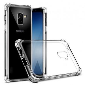 King Kong Armor | Противоударный прозрачный чехол для Samsung A730 Galaxy A8+ (2018) с дополнительной защитой углов
