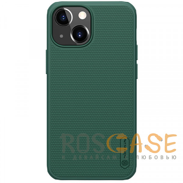 Фото Зеленый Nillkin Super Frosted Shield Pro | Матовый пластиковый чехол для iPhone 13 Mini