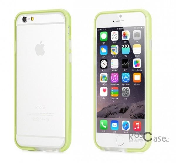 Бампер ROCK Duplex Slim Guard для Apple iPhone 6/6s (4.7)  (Зеленый / Green)Описание:производитель  - &amp;nbsp;Rock;создан специально для Apple iPhone 6/6s (4.7);материал - поликарбонат, термополиуретан;защищает боковые части аппарата.Особенности:ультратонкий, всего 2 мм;представлен в широком цветовом диапазоне;простая установка;обладает высоким уровнем устойчивости к внешним воздействиям.<br><br>Тип: Бампер<br>Бренд: ROCK