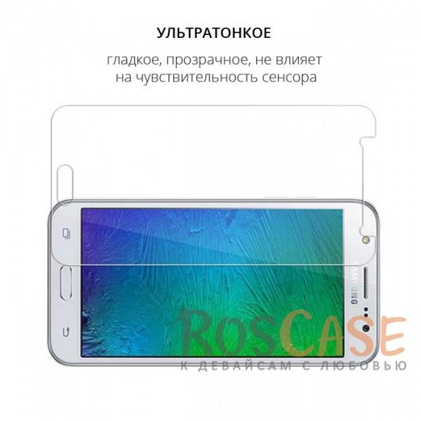 Изображение Прозрачное защитное стекло с закругленными краями и олеофобным покрытием для Samsung J510F Galaxy J5 (2016)