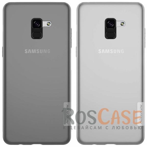 Мягкий прозрачный силиконовый чехол Nillkin Nature для Samsung A530 Galaxy A8 (2018)Описание:совместимость: Samsung A530 Galaxy A8 (2018);материал: термополиуретан;тип: накладка;ультратонкий дизайн;прозрачный корпус;не скользит в руках;защищает от механических повреждений.<br><br>Тип: Чехол<br>Бренд: Nillkin<br>Материал: TPU
